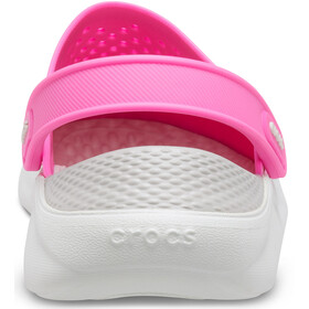 Crocs LiteRide Clogs, electric pink/almost white